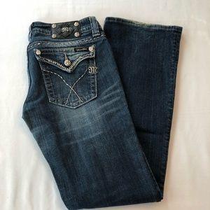 Excellent condition Miss Me boot cut jeans
